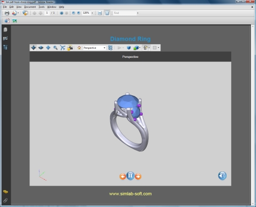 New 3D PDF experience for Rhino users | Simlab Soft's Blog