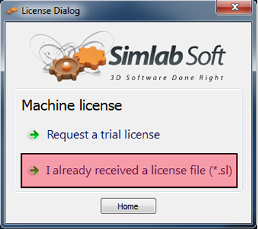 SimLab Trial License 5
