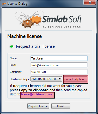 SimLab Trial license 6